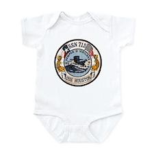 USS HOUSTON Infant Bodysuit