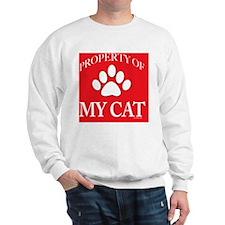 PropCat-WoRed-11x11 Sweatshirt