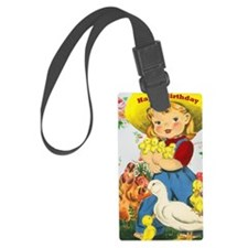 farmgirlbdaycard2 Luggage Tag