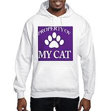PropCat-WoDkPurp-11x11 Hoodie