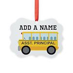 Personalized Assistant Principal Ornament