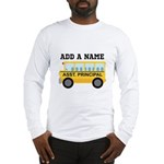 Personalized Assistant Principal Long Sleeve T-Shi