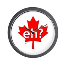 Canadian eh? Wall Clock