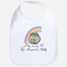 My 1st St Patrick's Day Bib