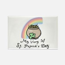 My 1st St Patrick's Day Rectangle Magnet