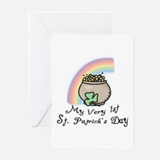 My 1st St Patrick's Day Greeting Cards (Package of