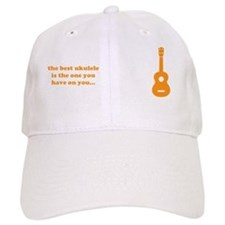 cp_bev_uke_orange Baseball Cap