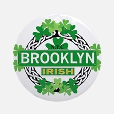 Brooklyn Irish Ornament (Round)