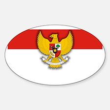 Indonesia (Laptop Skin) Sticker (Oval)