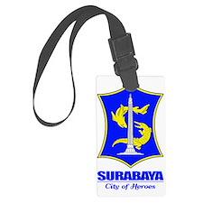 Surabaya (blue) Luggage Tag