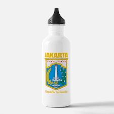 Jakarta COA (gold) Water Bottle
