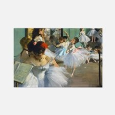 Bag Degas DanceC Rectangle Magnet