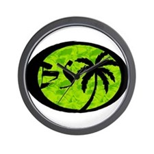 Wall Clock (Lime Squeeze)
