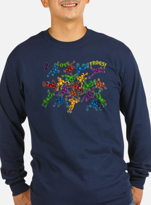 Colorful Poison Dart Frog I love frogs T-Shirt