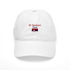 Serbian #1 Dad Baseball Cap