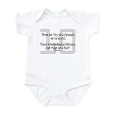 10 Types of People (NEW!) -  Infant Bodysuit