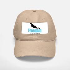 Dolphin Freedom Baseball Baseball Cap