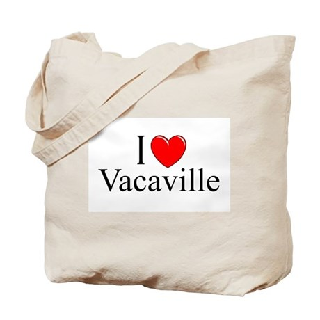 """I Love Vacaville"" Tote Bag"