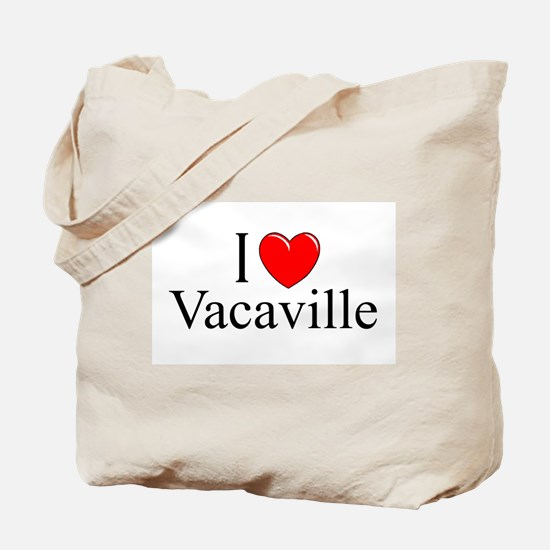 """""""I Love Vacaville"""" Tote Bag"""