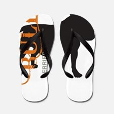 grungesilhouette3 Flip Flops