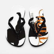 grungesilhouette Flip Flops