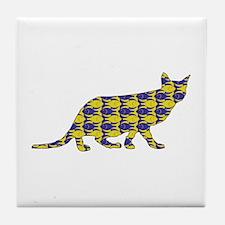 Ocicat Fish Tile Coaster