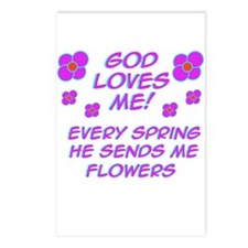 God Loves Me! Postcards (Pack of 8)