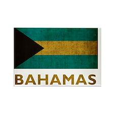 Bahamas7Bk Rectangle Magnet
