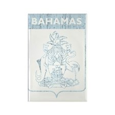 Bahamas8Bk Rectangle Magnet