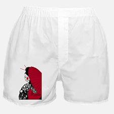 geishashowercurtain Boxer Shorts