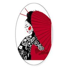 geishashowercurtain Decal