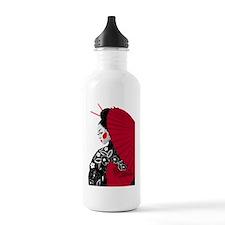 geishashowercurtain Water Bottle