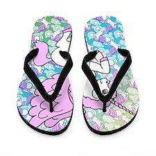 patternunicorns4CAFEPRESS2 Flip Flops