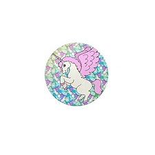 patternunicorns4CAFEPRESS2 Mini Button