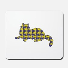 Ragdoll With Fishes Mousepad