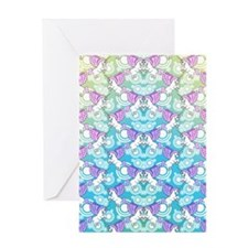 patternunicornflipflops Greeting Card