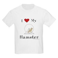 Hamster T-Shirt, Kids: I love my hamster