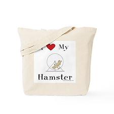 Hamster Tote Bag: I love my hamster