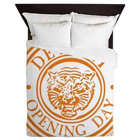 detop_ORANGE Queen Duvet