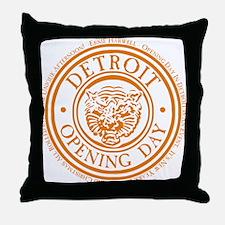 detop_ORANGE Throw Pillow