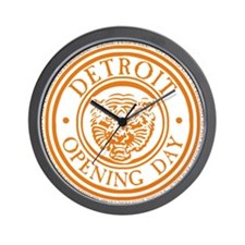 detop_ORANGE Wall Clock
