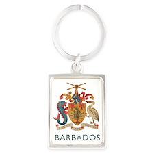Barbados4 Portrait Keychain