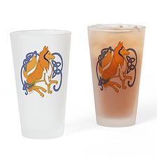 CollieBlondTrans Drinking Glass