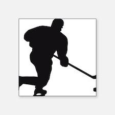 "Eishockey Square Sticker 3"" x 3"""