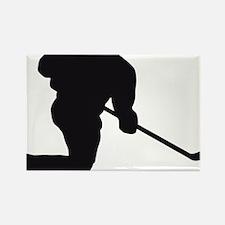 Eishockey Rectangle Magnet