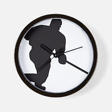 Eishockey Wall Clock