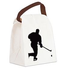 Eishockey Canvas Lunch Bag