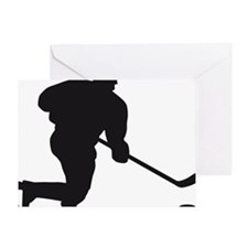 Eishockey Greeting Card