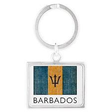 Barbados8 Landscape Keychain