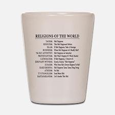 ReligionsOfWorld BLACK Shot Glass